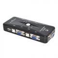 2139  CONVERSOR CHAVE KVM 4 VGA + USB 4 PORTAS
