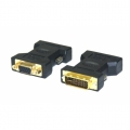 2612 ADAPT DVI-I DUAL LINK 24+5 PINOS  P/ VGA DB 15 FEMEA