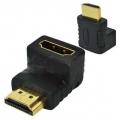 2615 ADAPT HDMI FEMEA X HDMI MACHO 90 GRAUS