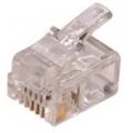 2801 PLUG MODULAR 6 X 4 P/FONE/FAX