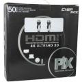 2518 CABO HDMI  50 MTS 1.4  4K ULTRAHD C/FILTRO E REPETIDOR PONTA GOLD