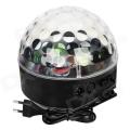 88 LED CRISTAL BALL RGB MEIA BOLA COM DMX