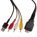 2624 CABO USB CAMERA  AM / 3 RCA X  SONY  MD2   1,50 MTS