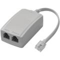 2804 Filtro ADSL Duplo