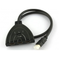 2138 CABO A/D HDMI SWITCH PIGTAIL 3 PORTAS